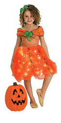 Pumpkin Princess Child Medium Costume