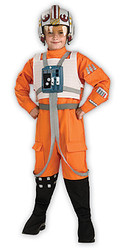 Child Orange Flight Suit X-Wing Pilot Costume