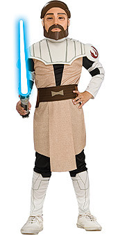 Obi Wan Kenobi Costume with Mask