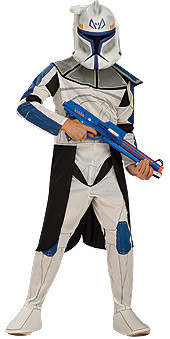 Clone Trooper Captain Rex Child Star Wars costume