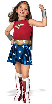 Wonder Woman Child Superhero Costume