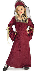 Lady Of The Palace Costume, Child - Classic Renaissance