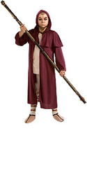 The Last Airbender Aang Hooded Cloak Costume, Kids