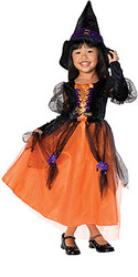 Child Pretty witch costumes