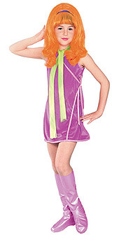 Daphne Costume, Child Schooby-Doo