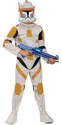 Clone Trooper Commander Star Wars Child Costume