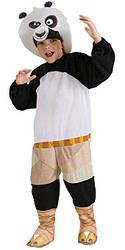 Child Kung Fu Panda Costume