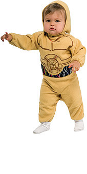 Baby C3PO Costume, Kids Star Wars costumes