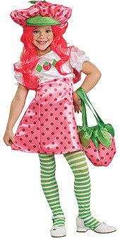 Strawberry Shortcake Costume, Child Deluxe