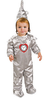Baby Tinman, Wizard of Oz - Halloween Infant Costume