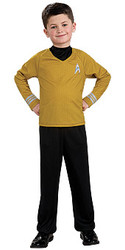 Child Star Trek Movie Captain Kirk Uniform