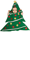 Newborn Christmas Tree Bunting