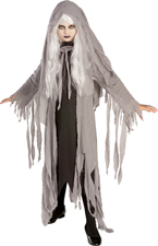 Midnight Spirit Costume, Girls Ghost
