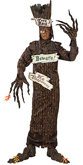 Haunted Tree Costume, Adult Standard