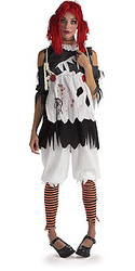 Ragdoll girls costumes , Adult Gothic - Halloween Costume 2010