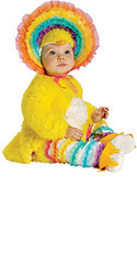 Newborn Rainbow Chickie Costume