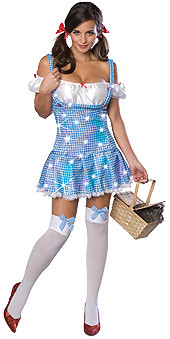 Wizard of Oz Sexy Dorothy Mini Dress