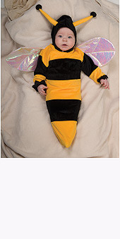 Baby Bumble Bee Costume, Newborn Bunting - Cute Halloween Costume