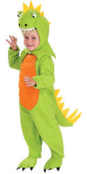 Dinosaur Green Fleece Costume