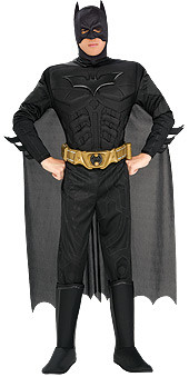 Dark Knight Deluxe Adult Batman Extra Large costume