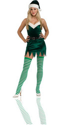 Sassy Elf Costume Adult Sexy Christmas Costume