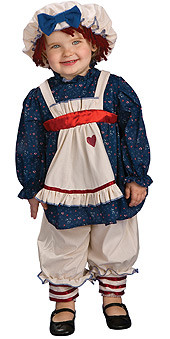 Baby Ragamuffin Dolly Costume