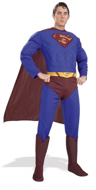 Deluxe Superman Returns Adult Small Male Costume