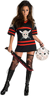 Miss Voorhees Adult Halloween Costume