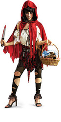 Lil Dead Riding Hood Costume Adult Halloween Costume