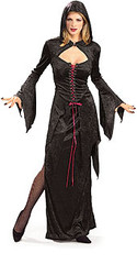 Gothic Vampira Maiden Costume Adult Halloween Costume