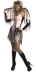 Spider Web Pink Fairy Costume Adult Halloween Costume
