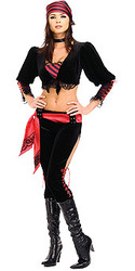 Captains Mate Costume, Adult Pirate  Sexy