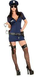 Officer Frisky Costume