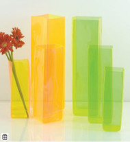 Lookers Sky Vase Tall Iridescent