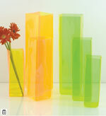 Lookers Sky Vase Taller Iridescent