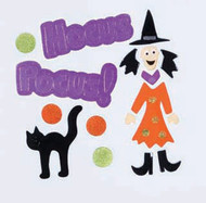 Hocus Pocus Small GelGems Window Clings