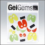 Boos and Eyes Large GelGems Window Clings