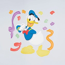 Disney Donald Duck large GelGem Window Clings
