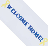 Welcome home troops! window clings