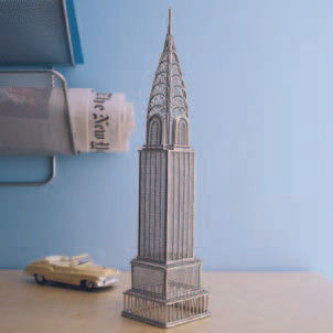 Chrysler Building Doodles Destinations