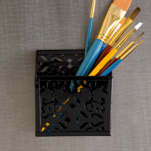 Brocade Magnetic Pencil Box