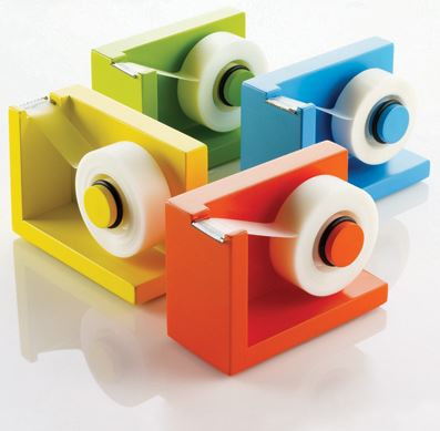 StickIt Tape Dispenser - Assorted Colors