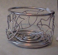 Falling Leaves Tea light Silhouette Wire Candle Holder