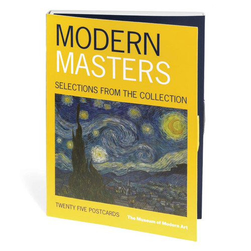 Postcard Book of Modern Masters