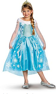 Disney Frozen Elsa Deluxe Child Costume
