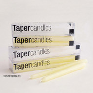 10 inch taper unscented candles