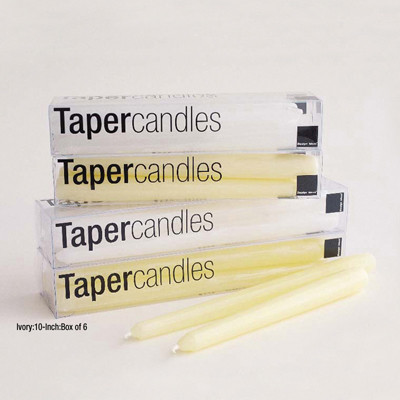 """Taper Candles 10"""" - Box of 6"""