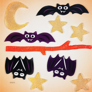 The Four bats GelGems window clings