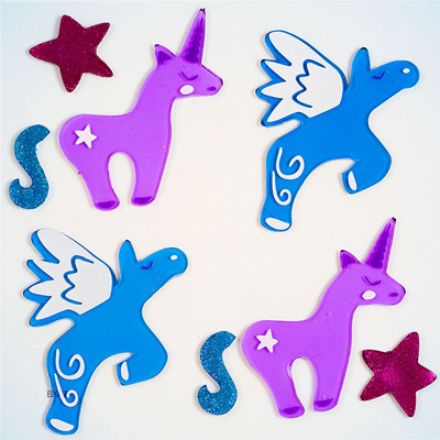 Magical Creatures GelGems®  Small Window Clings