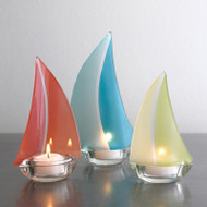 Regatta™ candle holder: Sherbert